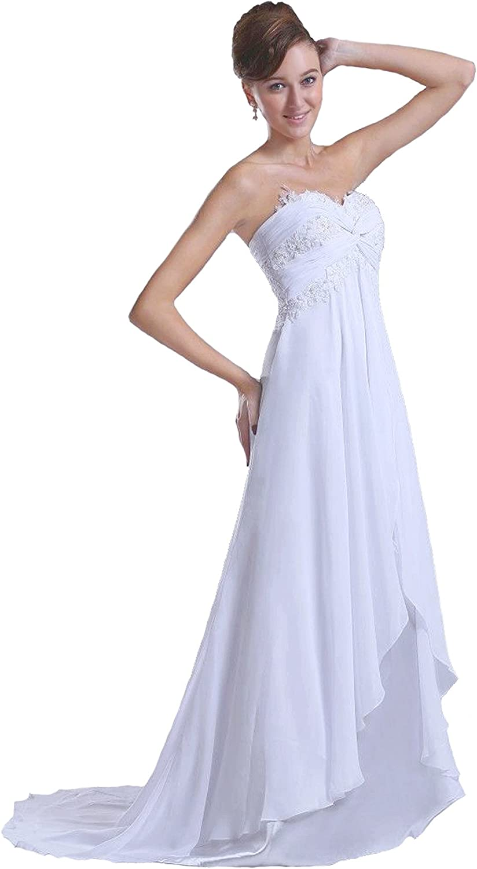 Faironly M18 Strapless Bridal Wedding Dress