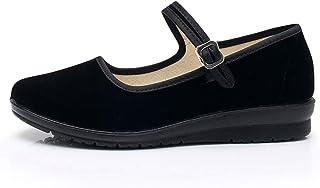 TN TANGNEST أحذية ماري جاين للنساء مريحة الرقص والباليه أحذية مسطحة