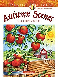 Fall coloring books for grownups