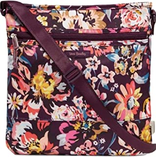 Vera Bradley Lighten Up Slim Crossbody in Indiana Blossoms