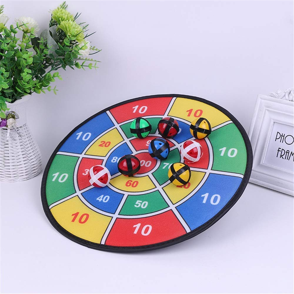 MU Puzzle Toys Large Safe para niños Juego de tablero de dardos con 8 bolas con sujetadores de gancho y bucle Juguetes educativos para bebés,Como la imagen,Un tamaño: Amazon.es: Bricolaje y herramientas