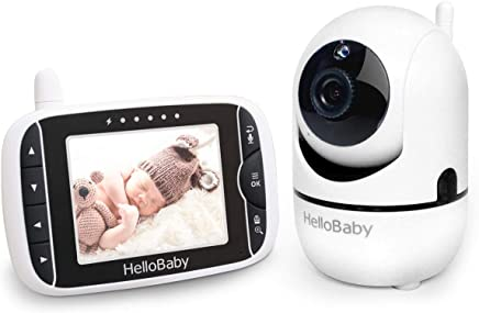 Baby Monitor with Remote Pan-Tilt-Zoom Camera and 3.2''...