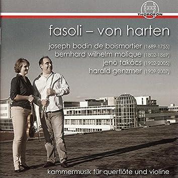 Kammermusik für Querflöte und Violine