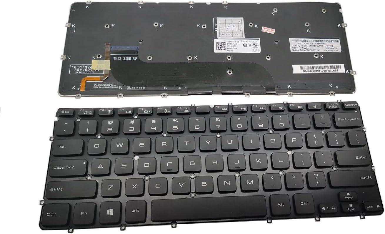 LAIKA Replacement DELL XPS 13 L221 L321 L322 XPS 12 XPS13R XPS13D XPS13 XPS 12 L221x 9Q23 9Q33 XPS 12 13 XPS 13D 13R L321X L322X 0MH2X1 Laptop Keyboard no Frame US Backlight Black XPS13