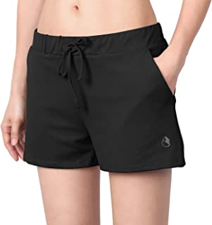 icyzone Sport et Décontracté Short pour Femme - Fitness Running Jogging Gym Pantalons Court