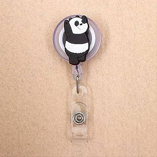 Porta Badge con Nome ID con Clip da Cintura Portabadge per Infermiera Artscope 3 Pezzi Diamante di Cristallo Bobina Porta Badge Retrattile Clip a Coccodrillo