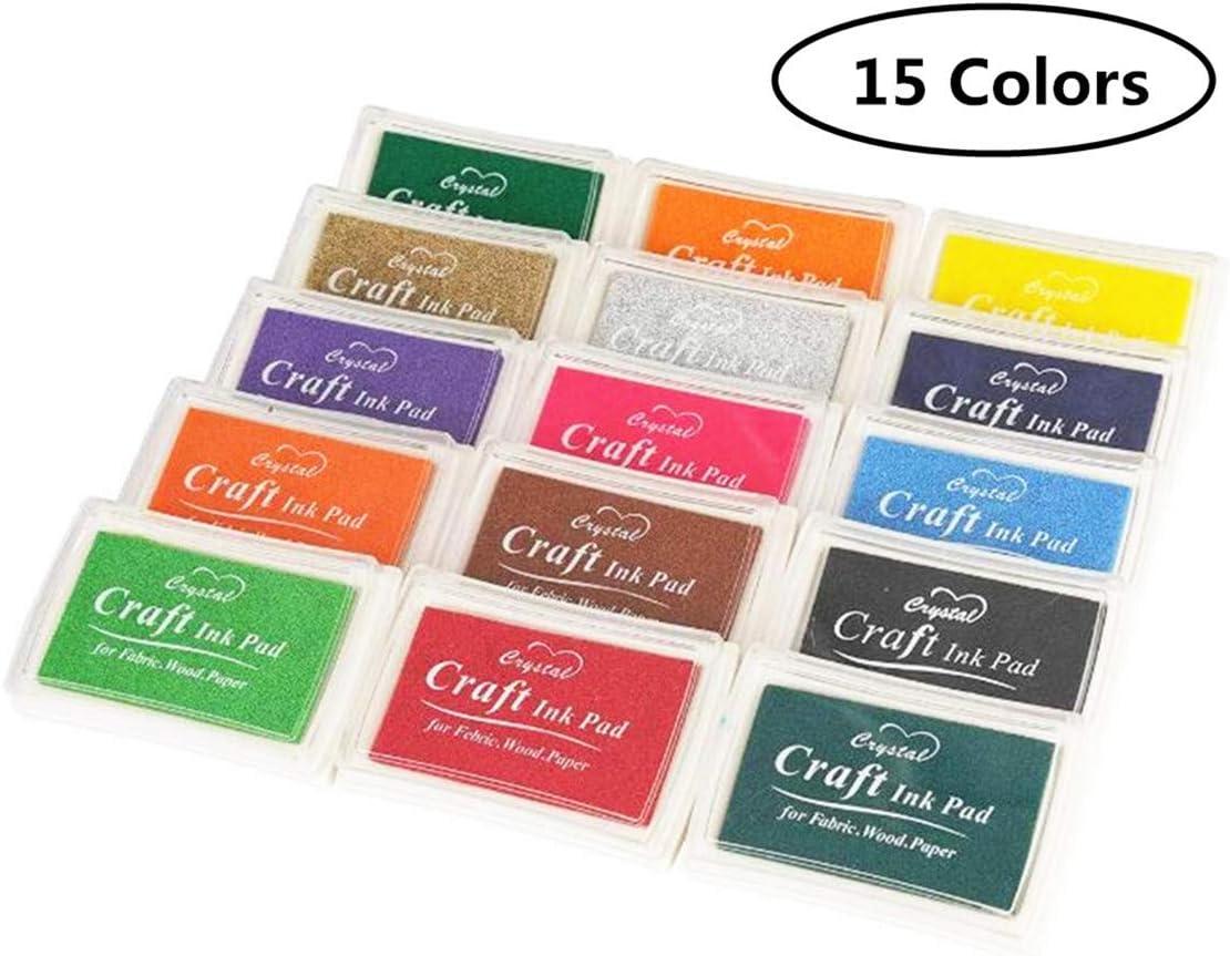 BelongsYou Craft Ink Pad Stamps Partner Sales DIY Colors 2021 model Color Scr 15