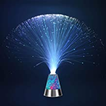 Weiduka® Multicolor Fiber Optic Light Colourful Changing Lamp With Color-Changing Crystals