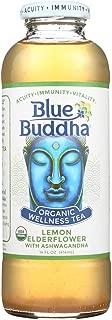 Blue Buddha Organic Wellness Tea - Lemon Elderflower with Ashwagandha - Case of 12-14 oz. - Pack of 12