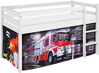 Spielbett und Etagenbett Lilokids H/ängetaschen Feuerwehr f/ür Hochbett