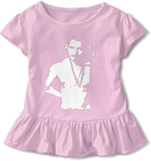 DONGLY 6-24 Month Baby T-Shirt Chris Cornell Topless Nordic Winter Personality Wild Gray