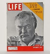 Photo of Cover Life Magazine Ernest Hemingway 1952