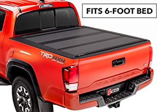 BAKFlip MX4 Hard Folding Truck Bed Tonneau Cover | 448427 | Fits 16-20 TOYOTA Tacoma With Track System 6' Bed