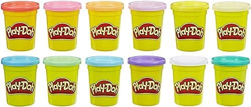 Play-Doh 12 Pots Couleur ETE (4Oz)