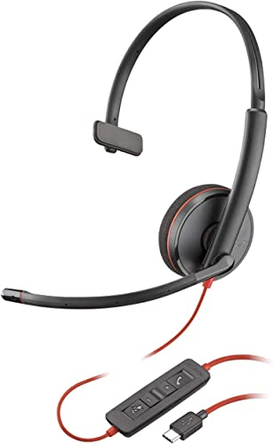wholesale Plantronics outlet online sale Blackwire 3210 new arrival USB-C Headset, On-Ear Mono Headset, Wired online sale