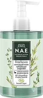 N.A.E. - Savon liquide Mains - Rafraîchissant - Freschezza - Certifié Bio - Formule Vegan - 98 % d'ingrédients d'origine n...