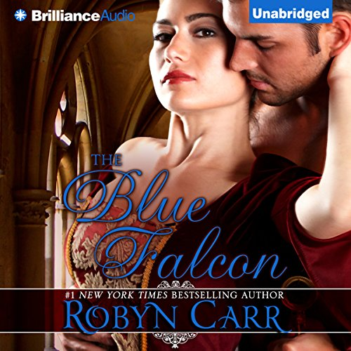 The Blue Falcon audiobook cover art