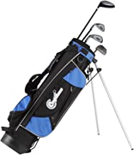 Confidence Junior Golf Club Set with Stand Bag (Left Hand, Ages 8-12)