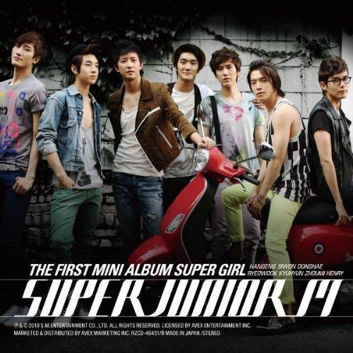 [画像:THE FIRST MINI ALBUM SUPER GIRL(CD+DVD) by SUPER JUNIOR-M (2010-02-24)]