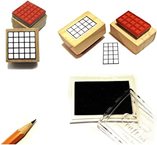 Stamp Pad and Bass, Ukulele, and Mandolin Chord, Tablature & Fingering Stamp