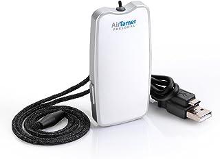 AirTamer A310 - Purificador de Aire portátil y Recargable, generador de Iones Negativos, purifica el Aire eliminando gérmenes, Polvo, Virus, bacterias, alérgenos, Moho, olores, y más Funda de Piel