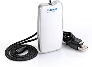 AirTamer A310 Personal Rechargeable   Portable Air Purifier   Negative Ion Generator   Purifies Air Eliminating Germs, Dust, Viruses, Bacteria, Allergens, Mold, Odors, and More   Leather Case