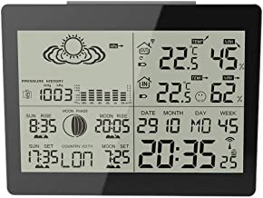 Wireless Weather Forecaster Station Wireless Digital Home Mini Weather Station Wireless Temperature and Humidity Meter Weather Forecaster