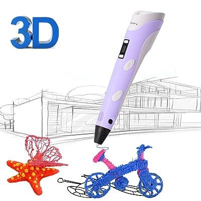 3D Printing Pen for Kids,Juboury JBY-II 3D Draw...