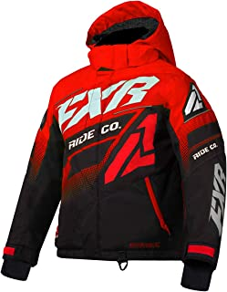 FXR Youth Boost Jacket 2020 (Red/Black/White - Size 10)
