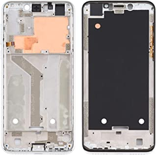 Mobile Phones Communication Accessories Front Housing LCD Frame Bezel Plate for Motorola Moto One (P30 Play) (Color : Silver)