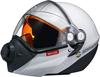 Ski-doo BV2S Modular Snow Helmet (Non-electric) White/3X-large #4474041601
