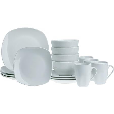 Chantilly Tabletops Unlimited White Ceramic Raised Scrolls Dinner Plate SH