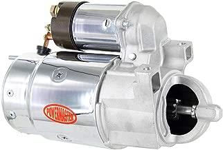 Powermaster Performance 13631 Chrome Alternator (10MT with Nat DE Buick, Caddy, Pont LT-1 & Chevy 153T Flywheel)