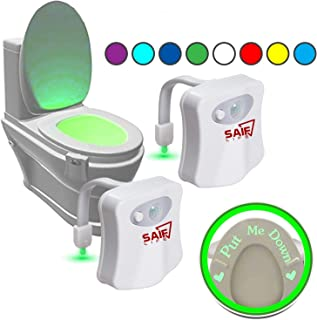 2 Pack Toilet light with