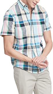 Men's Short Sleeve Button Down Shirt in Custom Fit