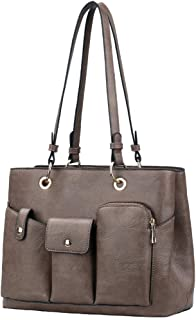 Handbags for Women Shoulder Tote PU Leather Purse Top-Handle Bags