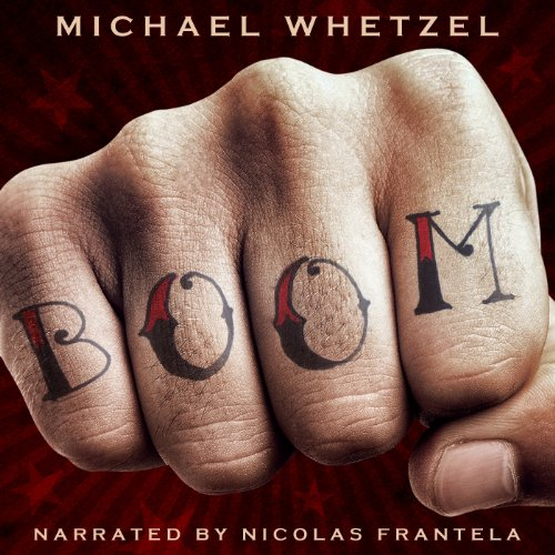 BOOM audiobook cover art