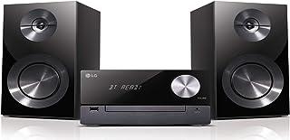 LG XBoom Micro Hi-Fi - Microcadena (Microcadena de música para uso doméstico, Negro, Monótono, 1 discos, 100 W, DAB,DAB+,FM)
