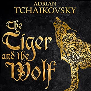The Tiger and the Wolf     Echoes of the Fall, Book 1              Written by:                                                                                                                                 Adrian Tchaikovsky                               Narrated by:                                                                                                                                 Kyla Garcia                      Length: 22 hrs and 6 mins     8 ratings     Overall 4.6