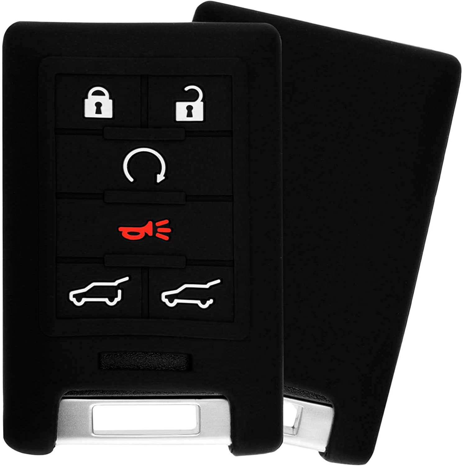 KeyGuardz Keyless Remote Super special price Indefinitely Car Smart Key Outer Fob Sof Cover Shell