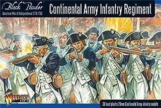 Black Powder Revolutionary War Continental Army Infantry Regiment 1:56 Military Wargaming Plastic Model Kit