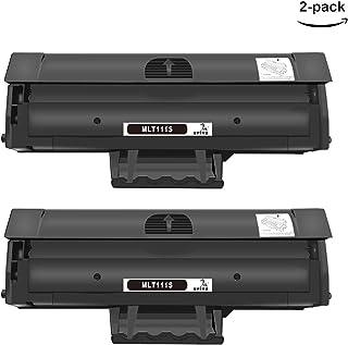 ONINO MLT-D111S Cartucho de tóner para Samsung Xpress M2026 M2026W M2020 M2020W M2022 M2070 M2070W 2070F M070FW Negro (2pcs)