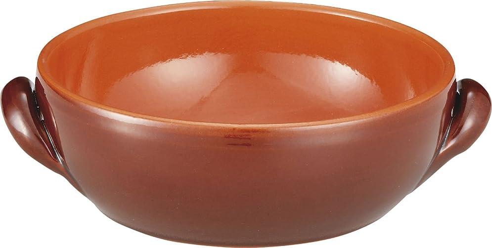 カップスーパーメニューデシルバ 両手 土鍋 直火 オーブン キャセロール 18cm ブラウン 003TE181