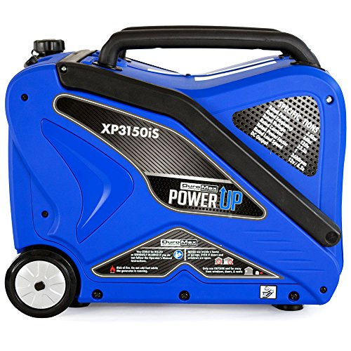 DuroMax XP3150iS 3150W Gas Powered Digital Inverter Portable...