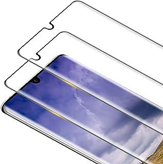 comprar comparacion RIIMUHIR 2 Pack Protector Pantalla para Huawei P30 Pro Cristal Templado, 3D Curvado Completa Cobertura Dureza 9H [Sin ...