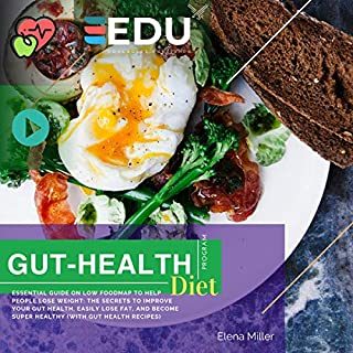 Gut Health Diet Program: Low Food Map Ultimate Guide 2019 audiobook cover art