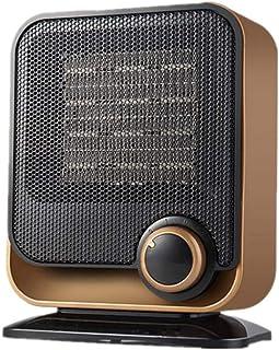 Moolo Calefactor De Ventilador, Radiadores Portátiles Calentador De Cerámica PTC con 2 Configuraciones De Calor Sobrecalentar Volcar Protección 1500W