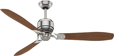 Casablanca Fan Company 59504 Tribeca Ceiling Fan, 60, Brushed Nickel