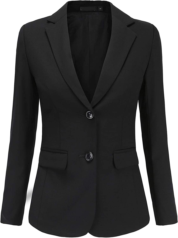 Rojeam Women's Office Slim Fit Trouser Suits Skirt Suits Blazer Business Suit Set Work Skirt Pant Shirt