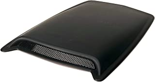 Auto Ventshade AVS 80004 Large Single Hood Scoop with Smooth Black Finish